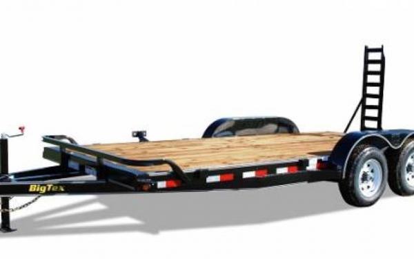 "Big Tex 83""x18' Pro Series Tandem Axle Equipment Trailer"