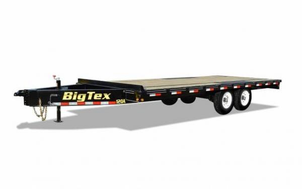 "Big Tex 102""x20' Tandem Axle Over the Axle"