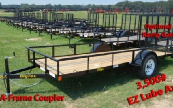 5 x 10 Big Tex Trailer with Rampgate