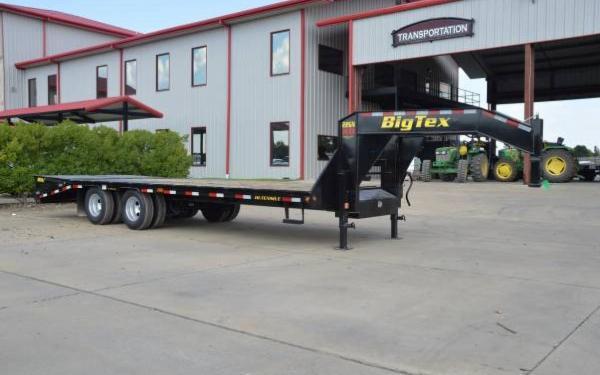 Big Tex 35'+5' Tandem Dual Axle Gooseneck