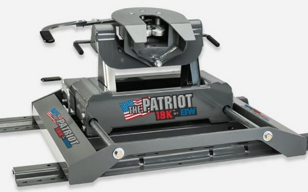 B&W Patriot 18K™ Slider 5th Wheel or Gooseneck Hitch