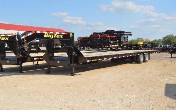 Big Tex 40' Heavy Duty Tandem Dual Axle Gooseneck