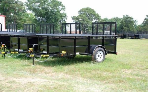 "60""x10' Big Tex Single Axle Vanguard"