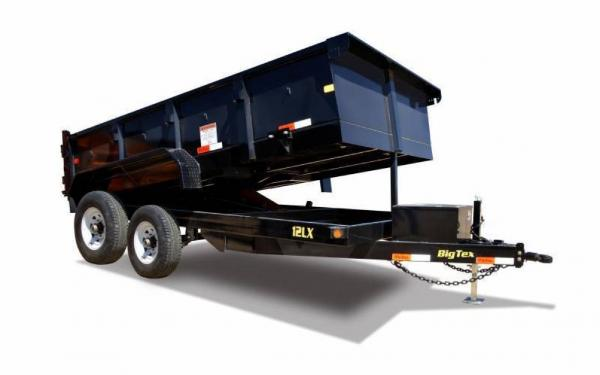 Big Tex Tandem Axle Low Profile 12' Dump Trailer