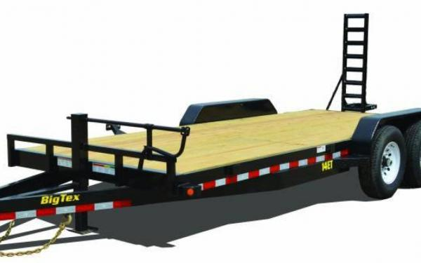 Big Tex 2015 18' Tandem Axle Equipment Trailer