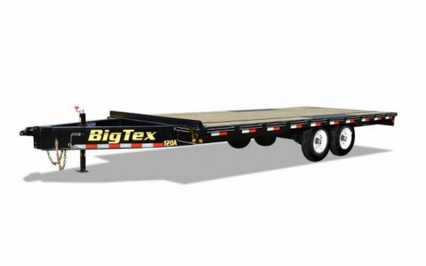 20' Over the Axle Trailer