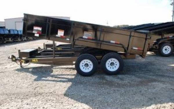 Big Tex Tandem Axle Steel Dump Trailer