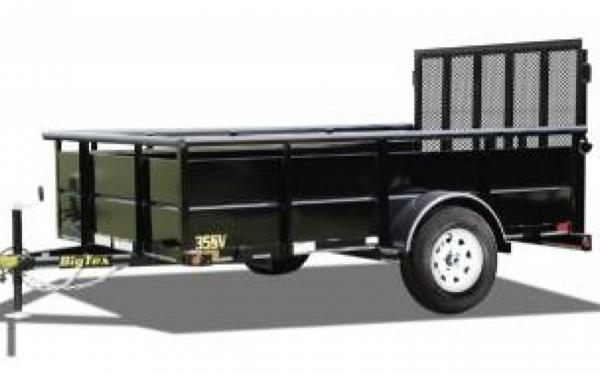 "77""x10' Single Axle Vanguard Trailer"
