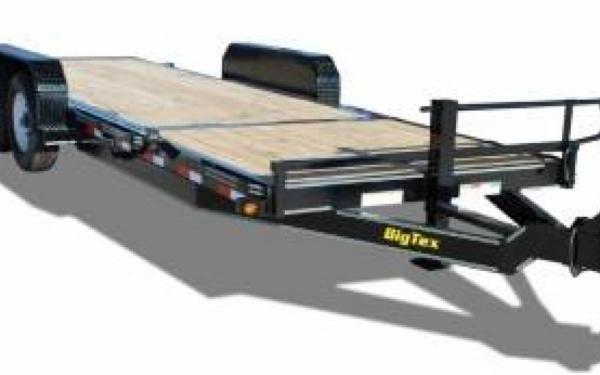 20' Big Tex Tilt Bed Trailer