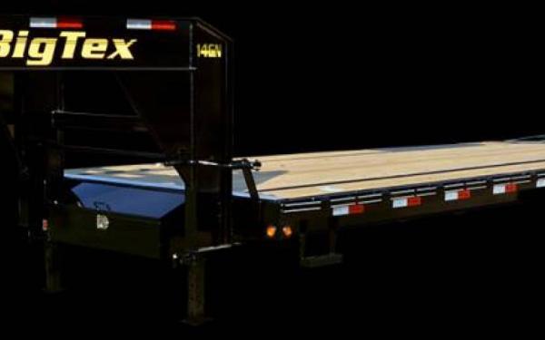 """83'""""x20' Tilt Bed Gooseneck Trailer"""