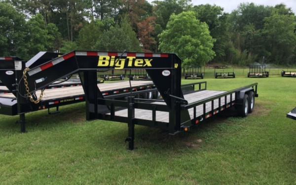 2017 Big Tex Gooseneck Lowboy Trailer