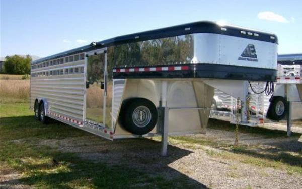 Elite Trailers 28' Show Stock with Side Ramp