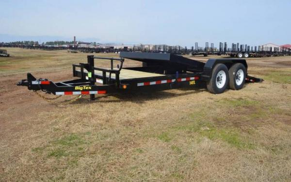 Big Tex Pro Series Tilt Bed Equipment