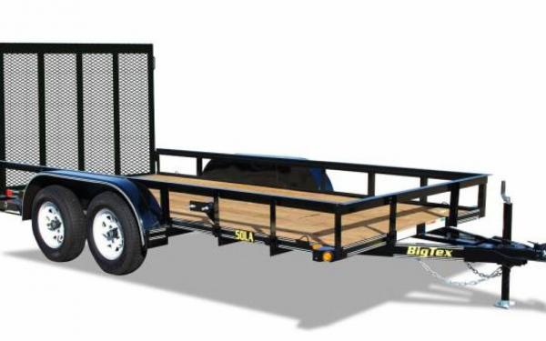 16' Big Tex Tandem Axle Utility Trailer