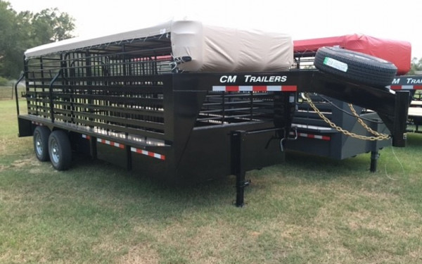 2017 CM Brush Buster 20' Stock Trailer