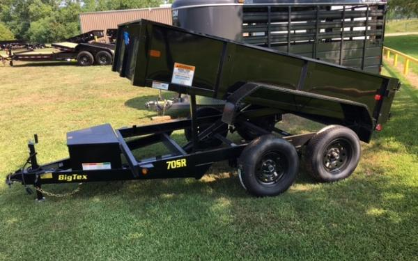 Big Tex 70SR Tandem Axle Single Ram Dump 2018 & 2019 Models