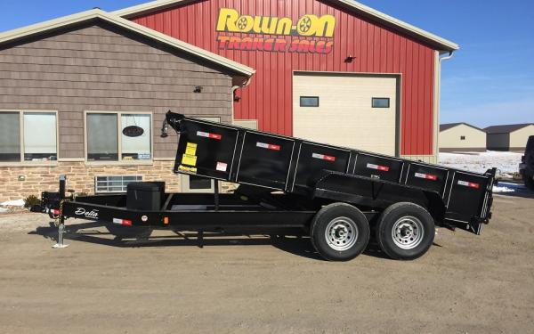 "2018 Delta ""Low Profile"" Dump Trailer  14,000 GVWR"