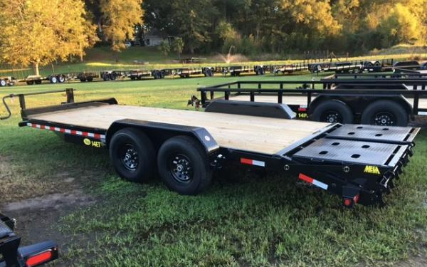 Big Tex 14ET Equipment Trailer w/ Mega Ramps