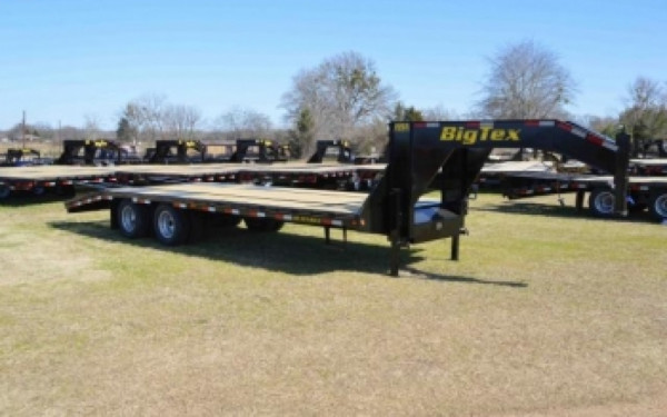 Heavy Duty Tandem Axle Gooseneck Trailer