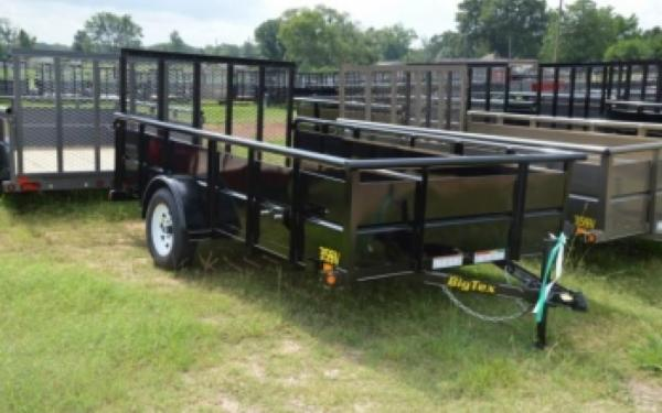 Big Tex Single Axle Vanguard