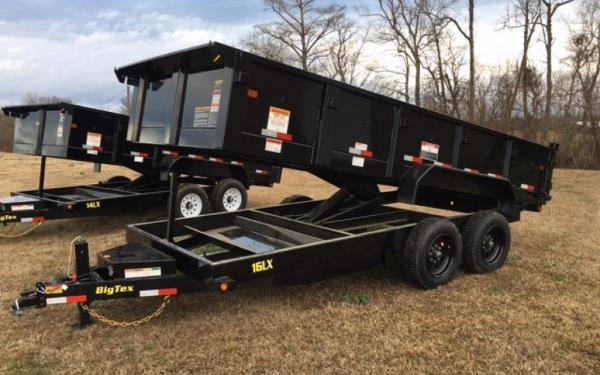 Big Tex 16LX Super Duty Exrta Wide Dump 2019 & 2020 Models