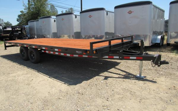 Iron Eagle 8.5'x20' 14K Deckover Trailer, Tandem Axle With Brakes coming soon