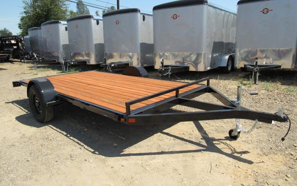 Iron Eagle 6.5'x10' ATV Hauler With Lockable 5' Ramps 9573 SB k7
