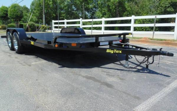 "70DM 83""x20'  Big Tex Steel Deck Car Hauler"