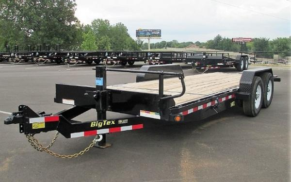 "14TL -83"" x 22 (16 + 6) Heavy Duty Tilt Bed Trailer"
