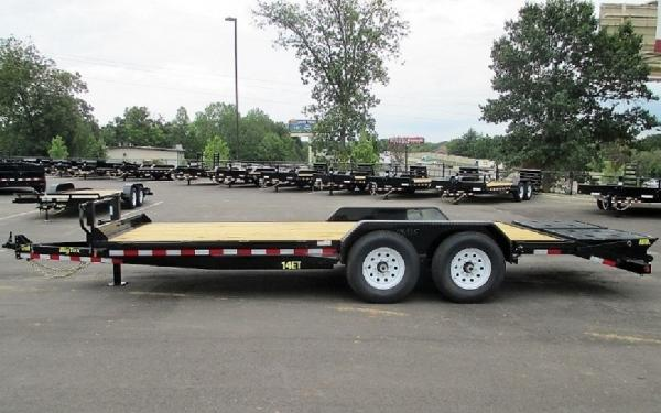 "14ET-83"" x 20 Tandem Axle Equipment Trailer W/Mega Ramp"