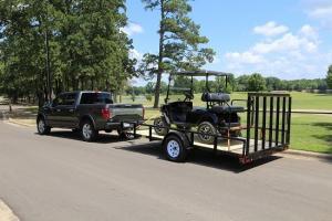 "35SA-77"" x 14 Single Axle Utility Trailer | Silsbee Motor ..."