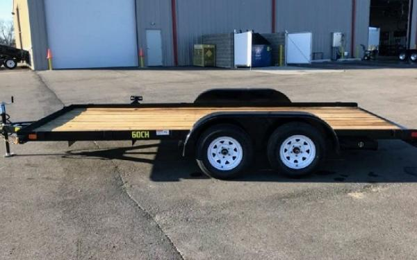 "Big Tex 60CH 83"" x 16 Economy Tandem Axle Car Hauler"