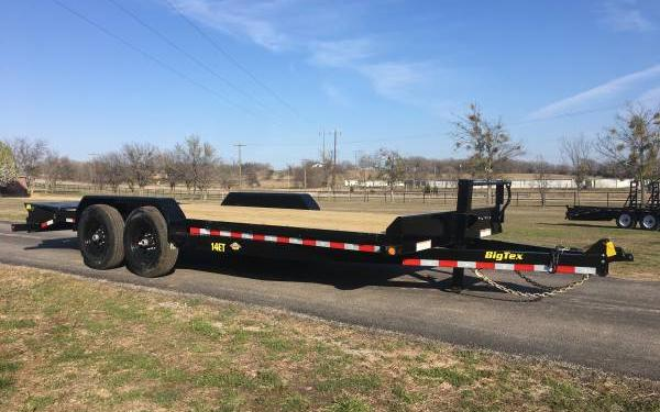 Big Tex 14ET 14K TAND EQUIP W/DT 83x22 MR DVT Mega Ramps