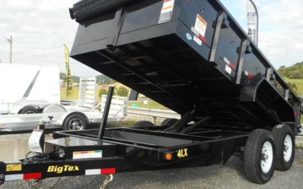 Big Tex 14 LX #1 Best Selling Dump Trailer W/Hydraulic Jack