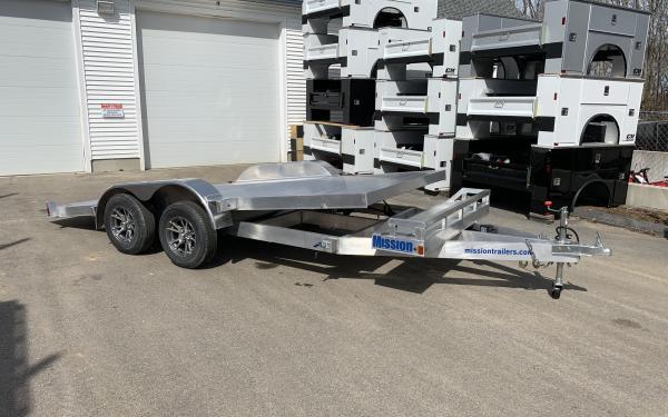 2019 Mission 18ft full tilt open car hauler 7000lb GVWR