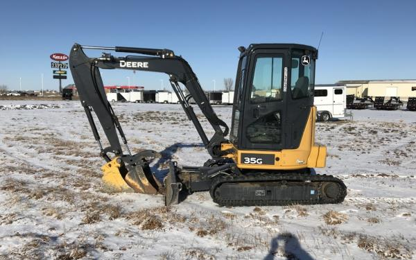 2015 (Used) John Deere 35G Mini Excavator For Sale